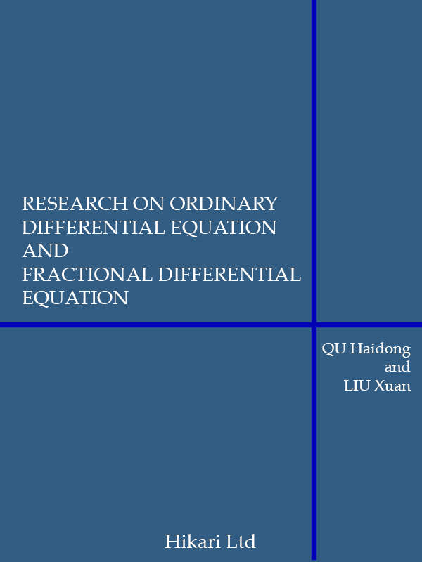 RESEARCH ON ORDINARY DIFFERENTIAL EQUATION AND FRACTIONAL DIFFERENTIAL EQUATION