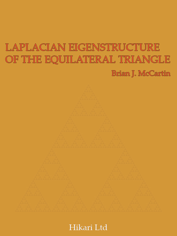 LAPLACIAN EIGENSTRUCTURE OF THE EQUILATERAL TRIANGLE