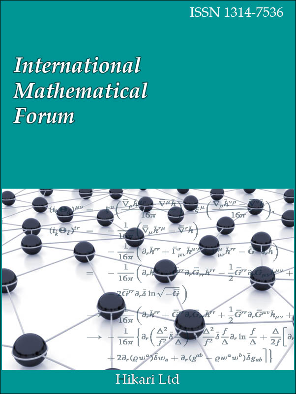 International Mathematical Forum