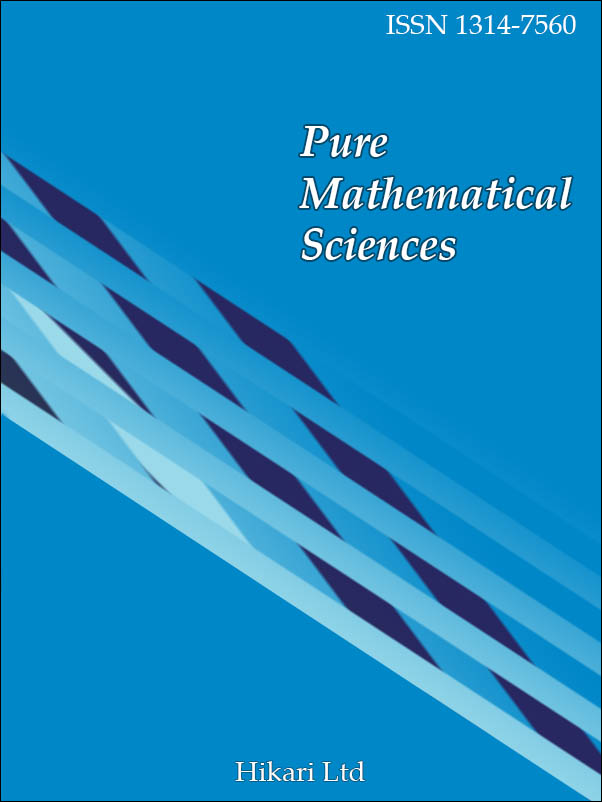 Pure Mathematical Sciences