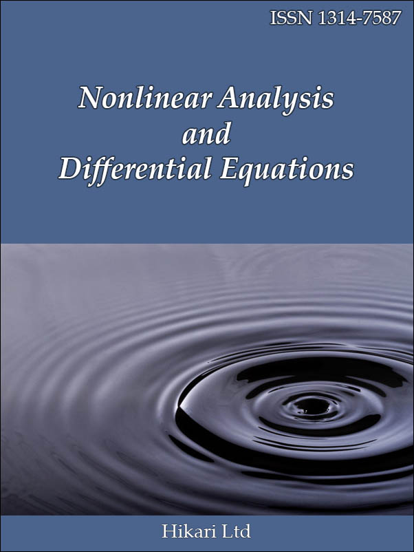 Nonlinear Analysis and Differential Equations