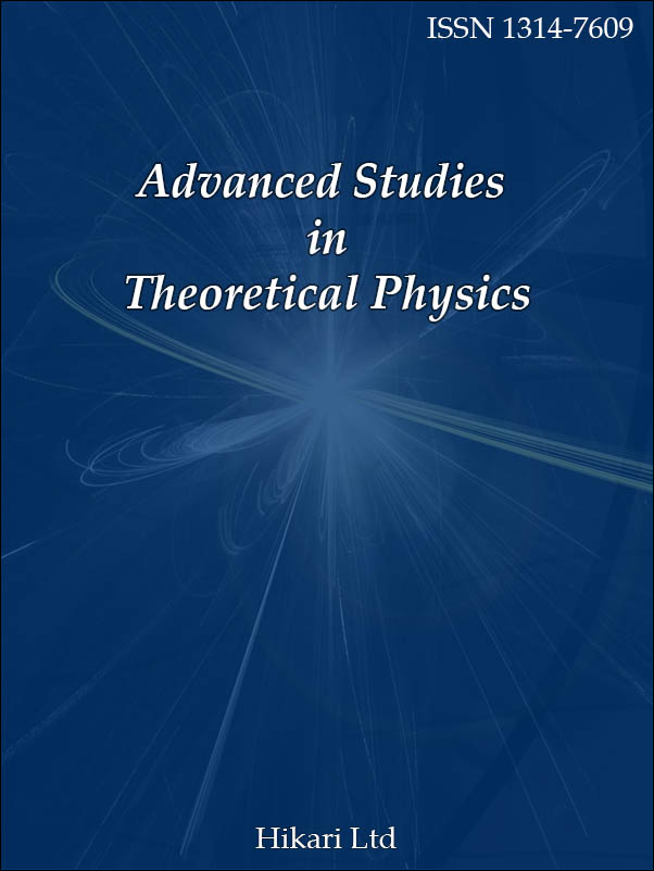Advanced Studies in Theoretical Physics