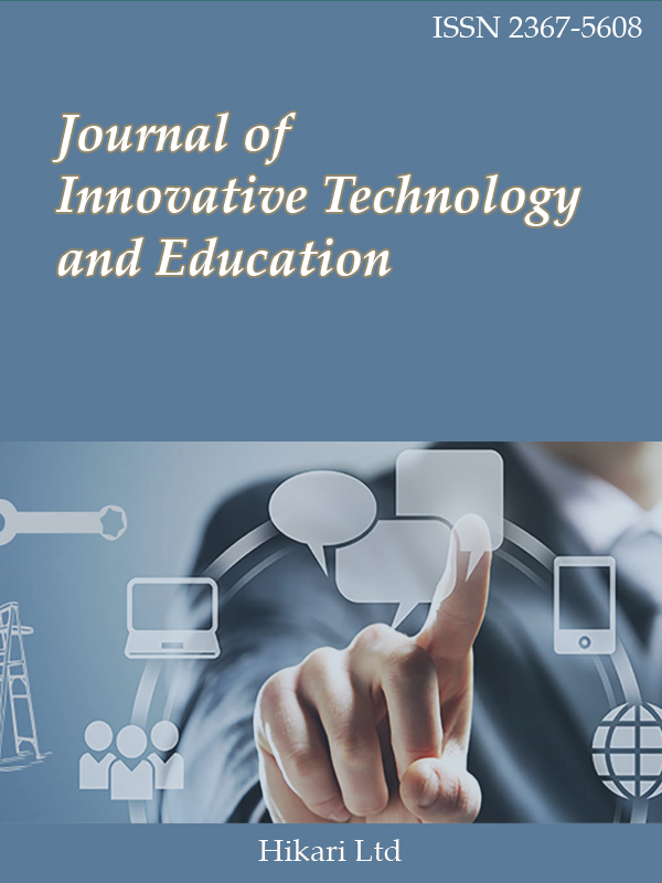 Journal of Innovative Technology and Education