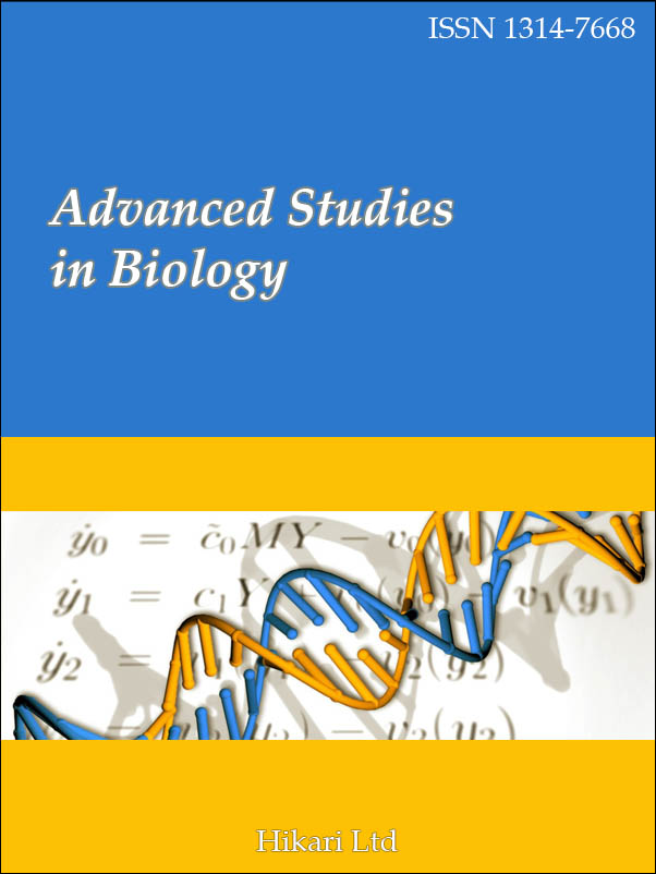 Advanced Studies in Biology