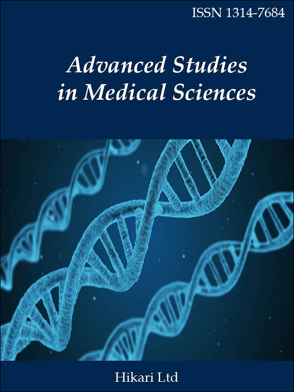 Advanced Studies in Medical Sciences