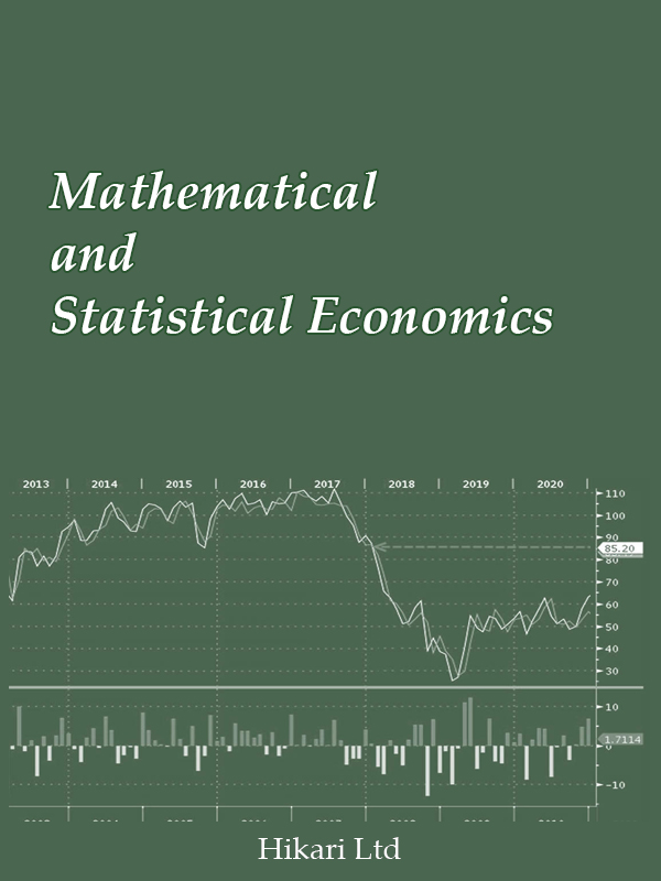 Mathematical and Statistical Economics